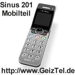 Sinus 201 Mobilteil
